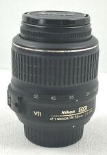Nikon AF-S Nikkor DSLR 18-55mm f/3.5-5.6G DX VR Zoom Lens TESTED