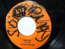 WINSTON WRIGHT 45 Cecilia HIT Reggae    c1223