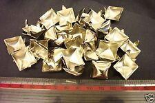 Pirámide postes 15mm Rocker Motociclista Cinturones De Cuero Punk diferentes cantidades