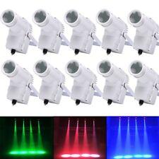 10PCS30W RGBW LED DMX Stage Lighting Pinspot Beam Spotlight 6CH DJ DISCO Par KTV