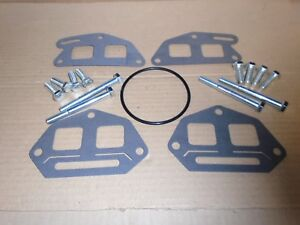 Triumph STAG ** PAYEN ** INLET MANIFOLD GASKET SET ** Inc. Bolts and Carb O Ring