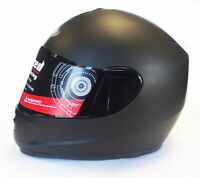 VIPER RS-250 FULL FACE ACU GOLD MOTORCYCLE MOTORBIKE CRASH HELMET MATT BLACK