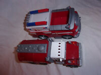 "Tonka Tanker Fire Truck 7"" Sound Spin Master 7"" Emergency Vehicles Toy"