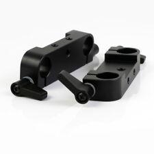 2pcs Universal Rod Clamp Adapter fr 15mm Rod Support Rail System SLR Rig Camera