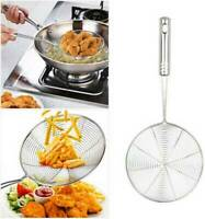 Kitchen Strainer Skimmer Cookware Basket Stainless Steel Frying Pasta Tools