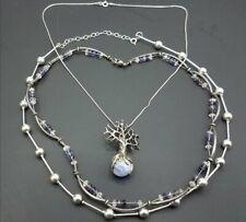 925 Silver, Quartz Necklaces TE826