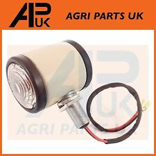 Ford 2000 3000 3100 4000 4100 Tractor White Butler Style Side Maker Light Lamp