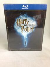 Harry Potter Complete 8 Film Collection Box Set Blu-Ray Italian Version!!!!!!!!