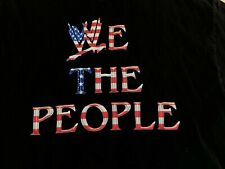 WWE We the People T-Shirt Jack Swagger Jake Hagar AEW XL Extra Large USA