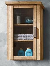 Hängeschränke aus Holz & Glas für das Badezimmer in aktuellem Design ...