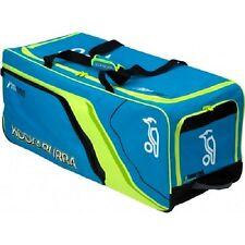 Kookaburra Pro 600 Senior Club Level Cricket Bag Holdall Wheelie Bag Blue/Yellow