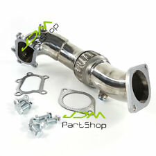 FOR Mazda Mazdaspeed 3 MPS 2.3L Turbo I4 O2 Bung CNC Machined Exhaust Downpipe