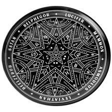 Killstar Gothic Okkult Keramik Teller - Summoning Hexagramm Horoskop Baphomet