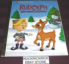 A LITTLE GOLDEN BOOK - RUDOLPH THE RED-NOSED REINDEER -2006- (HARD COVER)