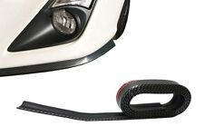 Universale Carbonio Vernice Gommino Frontale Angolare Sottoporta per Geo Bodykit