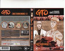 GTO:Great Teacher Onizuka:1-1998-TV Series Japan-4 Episodes-DVD