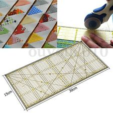 30x15cm Acrylic Patchwork Ruler Sew School Office Stationery Quilting Craft Tool