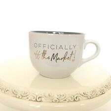 Engagement White Mug 'Officially Off The Market' Engaged Gift For Her 16 Oz