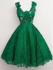 Emerald Green Prom Dress Vestidos Curto De Festa 2018 Knee Length Evening Dress