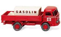 """#043804 - Wiking Pritschen-Lkw mit Aufsatztank (MB LP 321) """"Gasolin"""" - 1:87"""