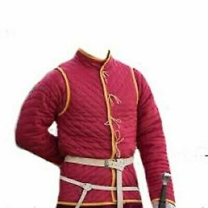Medieval Thick padded Gambeson Clothing Dress Jacket Costumes Halloween Gifts