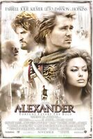 ALEXANDER MOVIE POSTER Original DS 27x40  COLIN FARRELL ANGELINA JOLIE 2004 Film