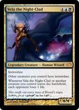 VELA THE NIGHT-CLAD Planechase 2012 MTG Gold Creature — Human Wizard MYTHIC RARE
