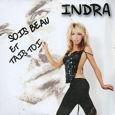 CD Single INDRASois beau et tais toi 2-track CARD SLEEVE - First Edition -