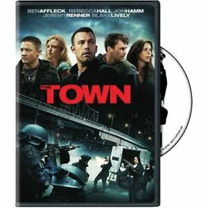 The Town On DVD With Ben Affleck Mystery Very Good E05