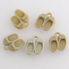 5pcs Resin Baby Shoes Charms, Scrapbook, Embroidery Embelishment etc.