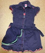 dunkelblaues Kleid von Cakewalk Gr. 104, 4 J. super