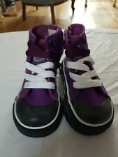 Polo original Infant high top Purple boys/girls trainers size 7uk, eu 24.