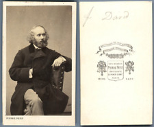 Pierre Petit, Paris, Félicien David Vintage carte de visite, CDV.Félicien Césa