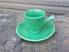 Fiesta Vintage Green Demitasse Cup & Saucer Set (1935 - 1937) - Fiesta ware