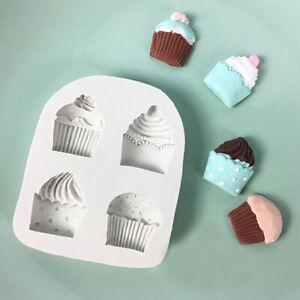 Silicone Cupcake Cake Icing Decor Mould Fondant Sugarcraft Chocolate Baking Mold