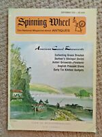 1974 Spinning Wheel Dorfner Steingut Steins Ashbil Griswold Pewter Pressed Glass
