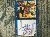 Final Fantasy X-2 HD Remaster , one piece kaizoku musou 3  PS Vita game 2 set