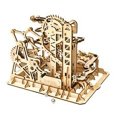 Robotime Rokr Murmelbahn 3D Holzpuzzle Modell Nr. LG504 (Tower Coaster)