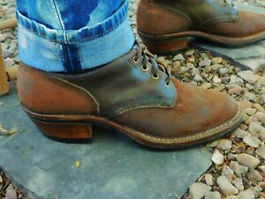White's Rancher Boots Amazing Classic Vintage Look 11.5D QUABAUG Heels