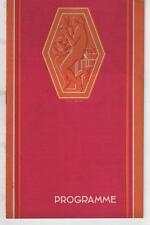 Programme ALHAMBRA Lyon BILLET DE LOGEMENT Lon Chaney NOTRE DAME DE PARIS 1932