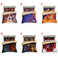 Five Nights at Freddy's FNAF New Bedding Set Duvet Cover Game plush Queen Size