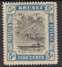 BRUNEI KGV Scott 21 SG27 mounted mint