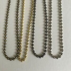 ROMAN BLIND CHAIN, COLOURED METAL CONTINUOUS LOOP PULL CHAIN ROLLER BLIND CHAIN