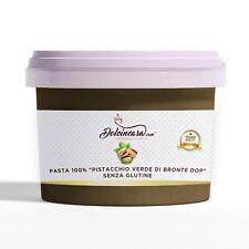 Pasta di Pistacchio Siciliano Puro di Bronte Dop 200gr - altissima qualità