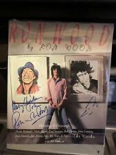 Ron Wood The Works / Signed First Edition 1987