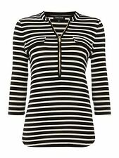 Episode Jersey Blouse With Zip Collar SIZE LARGE RRP £49.99 BOX87 19 A