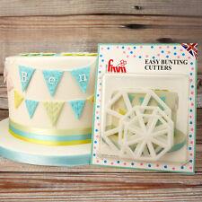Fmm facile bunting coupe givrage sugarcraft cake cupcake decorating set de 3