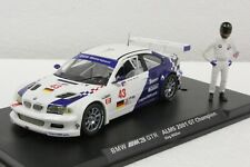 Fly E283 Bmw M3 Gtr, Alms Special Edition W/Figure New In Display 1/32 Slot Car
