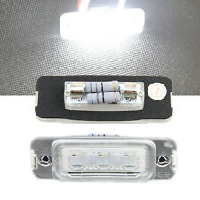 Luces led de matrícula Mercedes Benz ML W164,GL X164, R W251