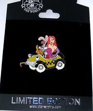 RARE LE 100 Disney Pin✿Sexy Jessica Rabbit Roger Car Parade Benny Taxi Cab Train